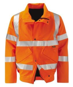 Gore-tex Hi-vis Bomber Jacket (Yellow or Orange)